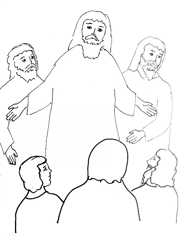 Bush Coloring Page New Moses And The Burning Bush Free