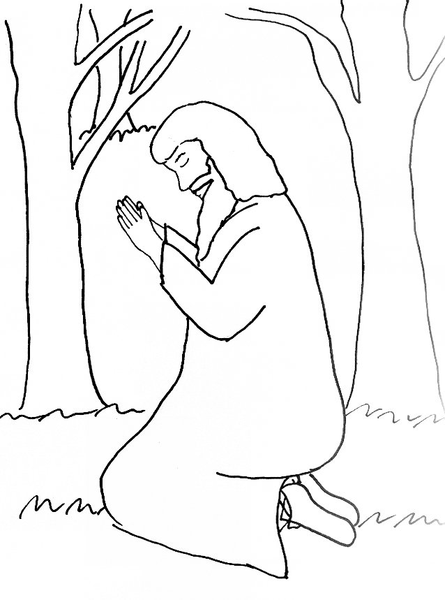 Free coloring pages of quiet person