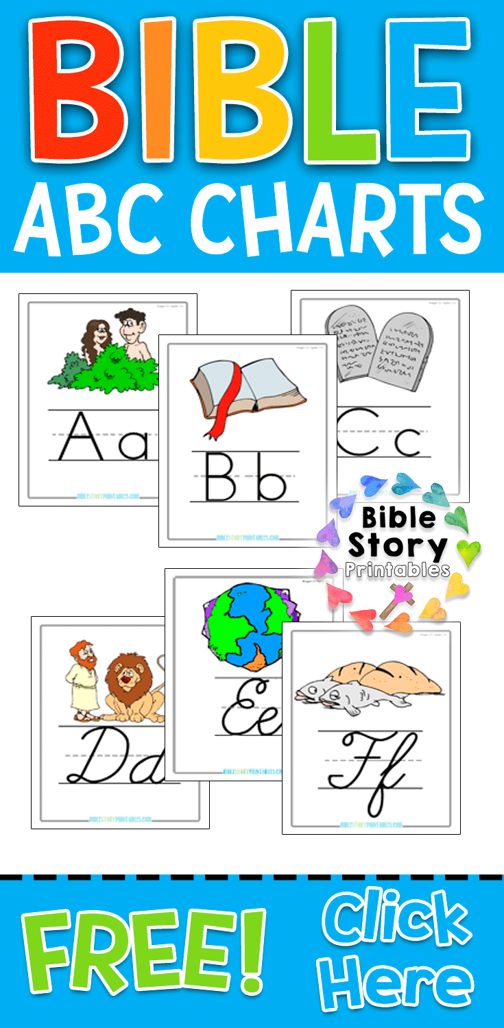 hight resolution of Bible Story Printables -