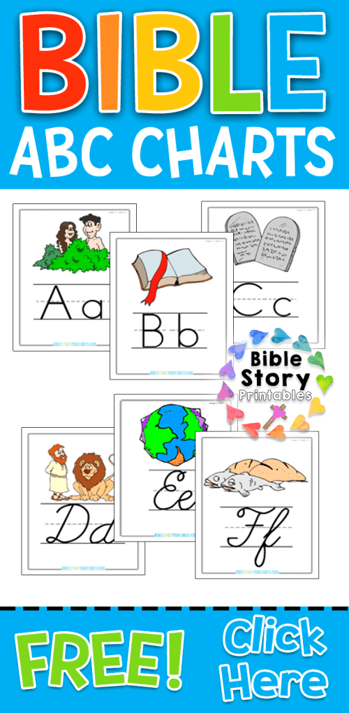 small resolution of Bible Story Printables -