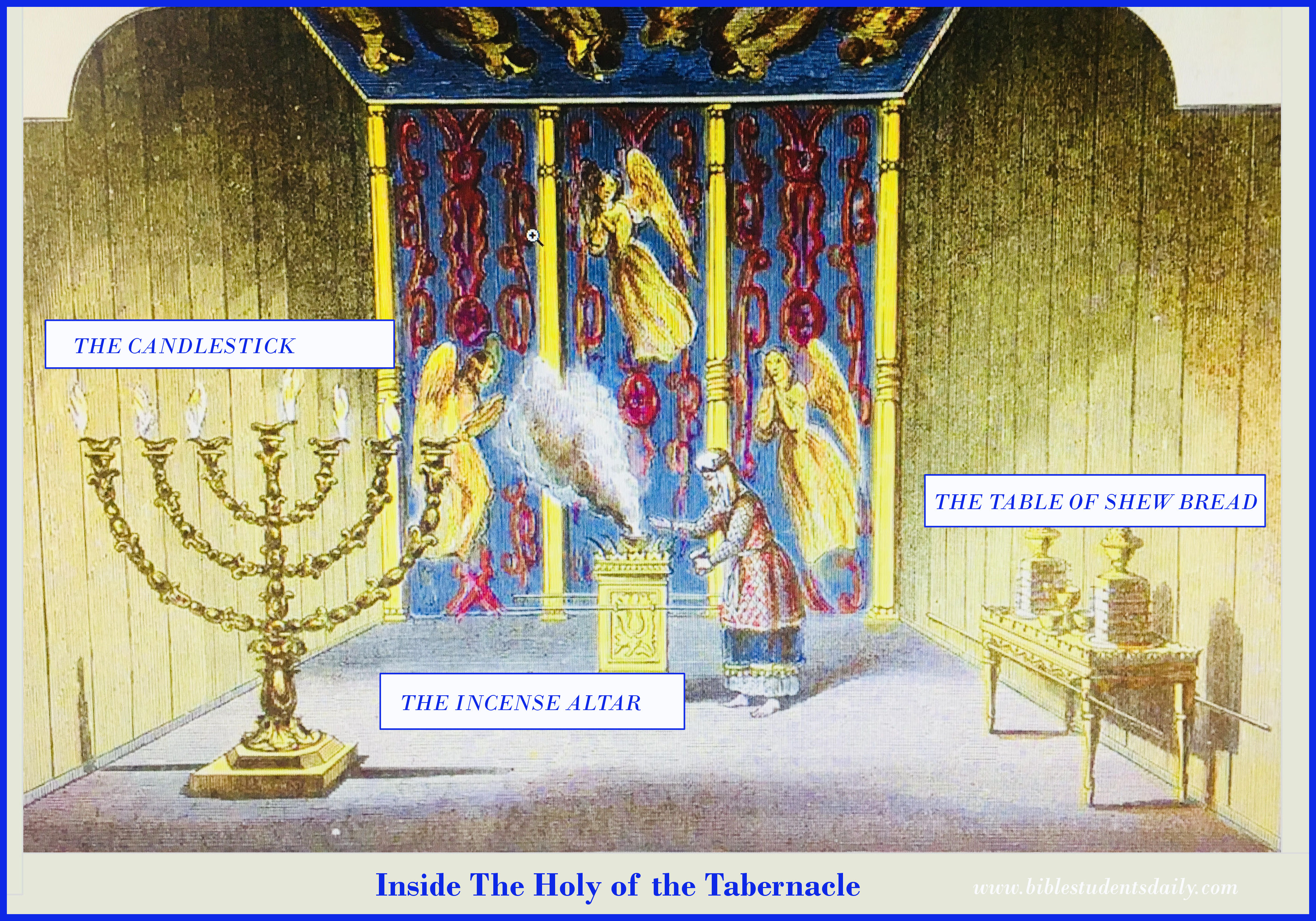 Study 10 The Furnishings In The Holy Of The Tabernacle
