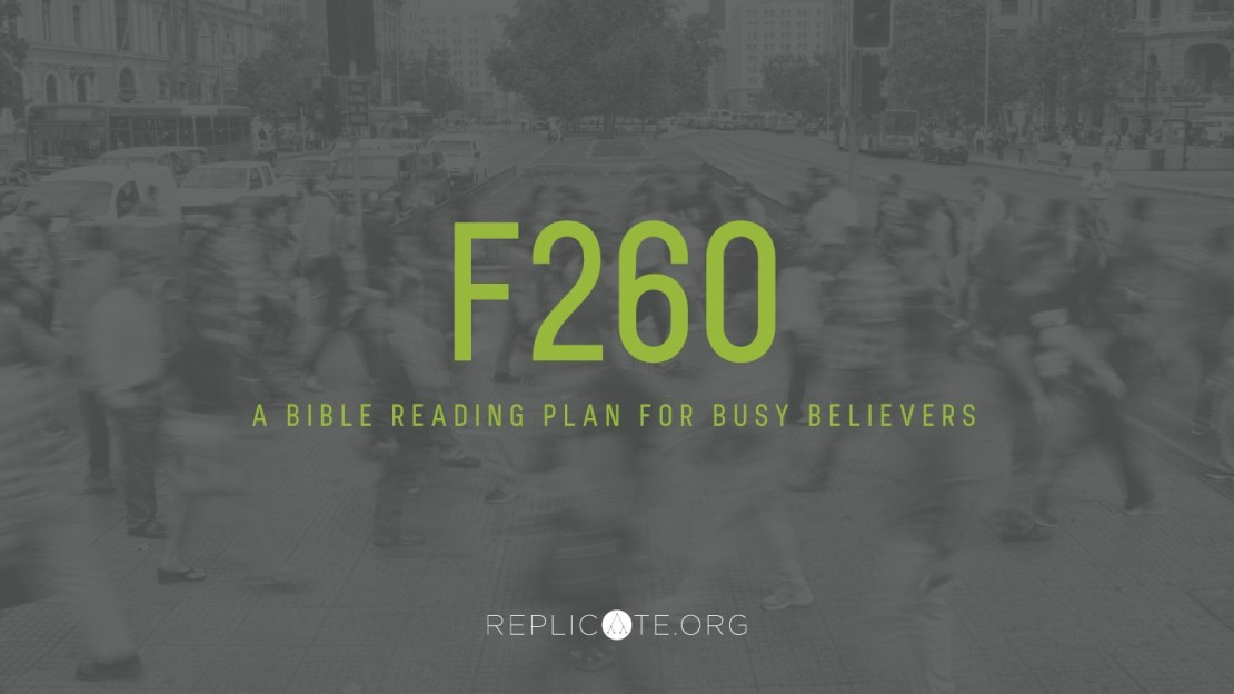 F-260 Bible Reading Plan