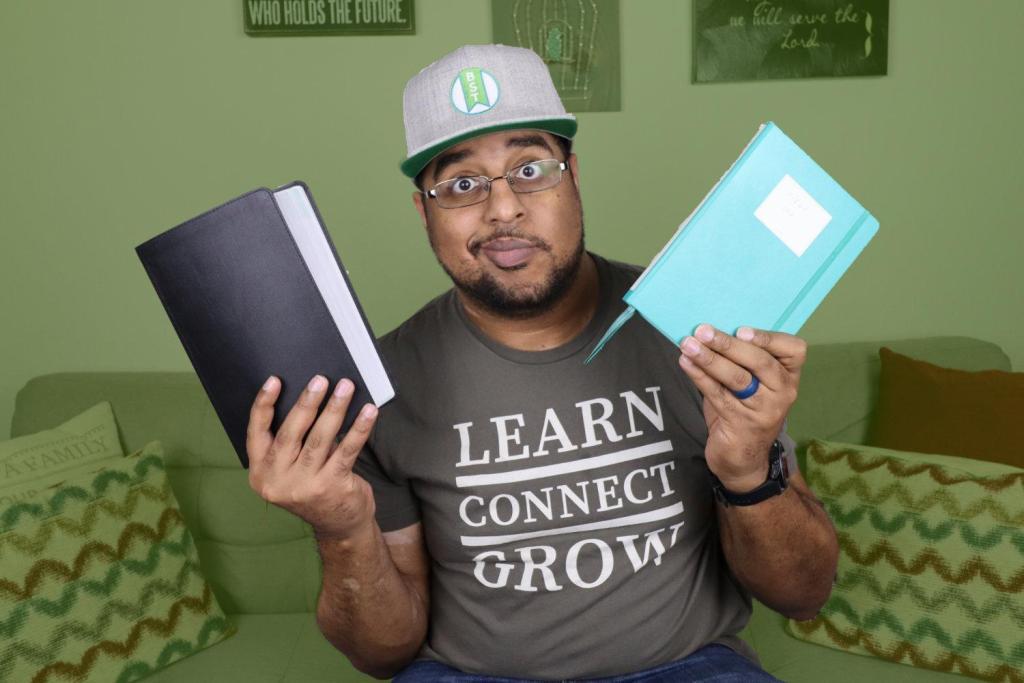 A Simple Bible Journaling Method