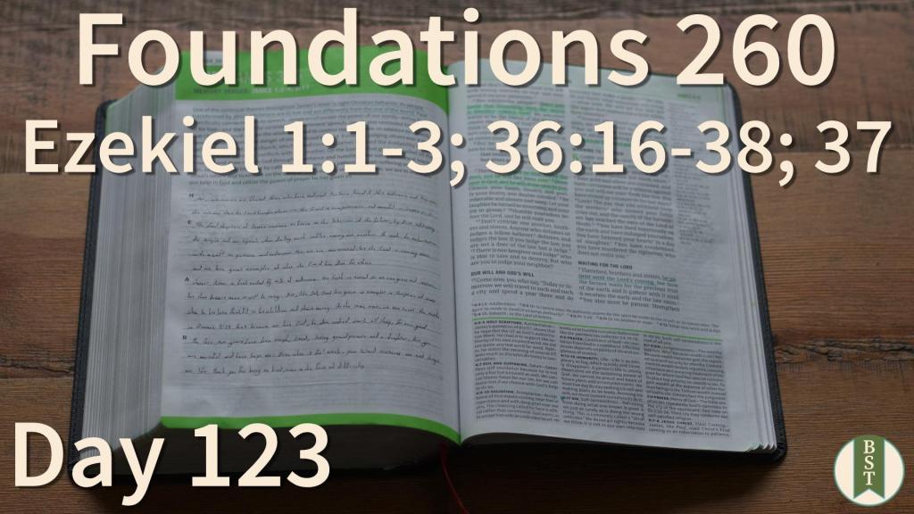 F260 Bible Reading Plan - Day 123
