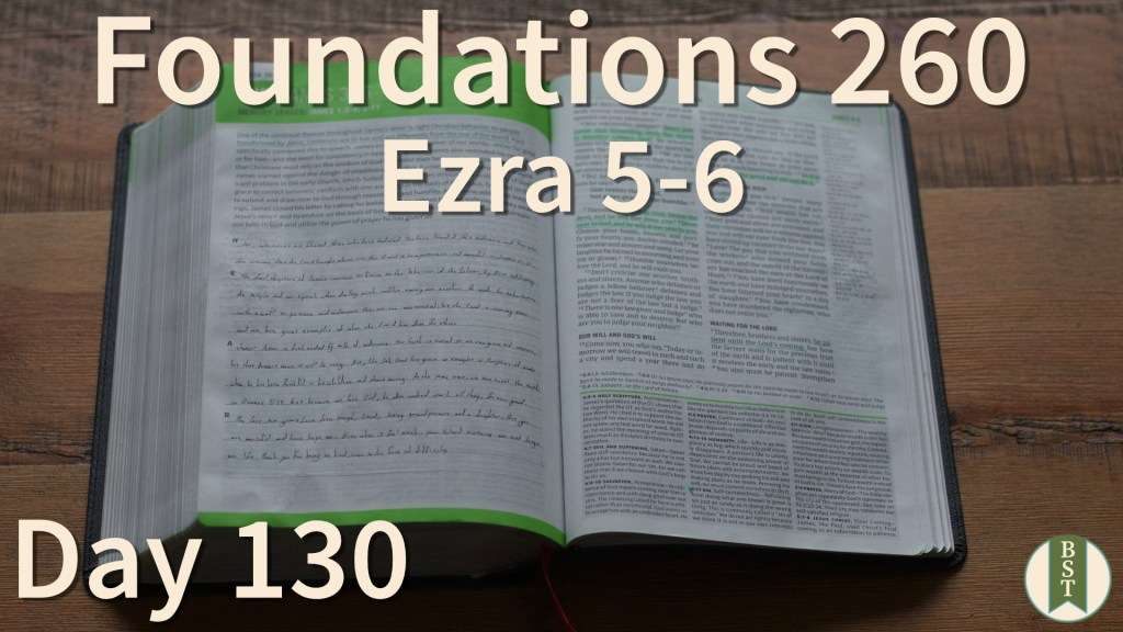 F260 Bible Reading Plan - Day 130