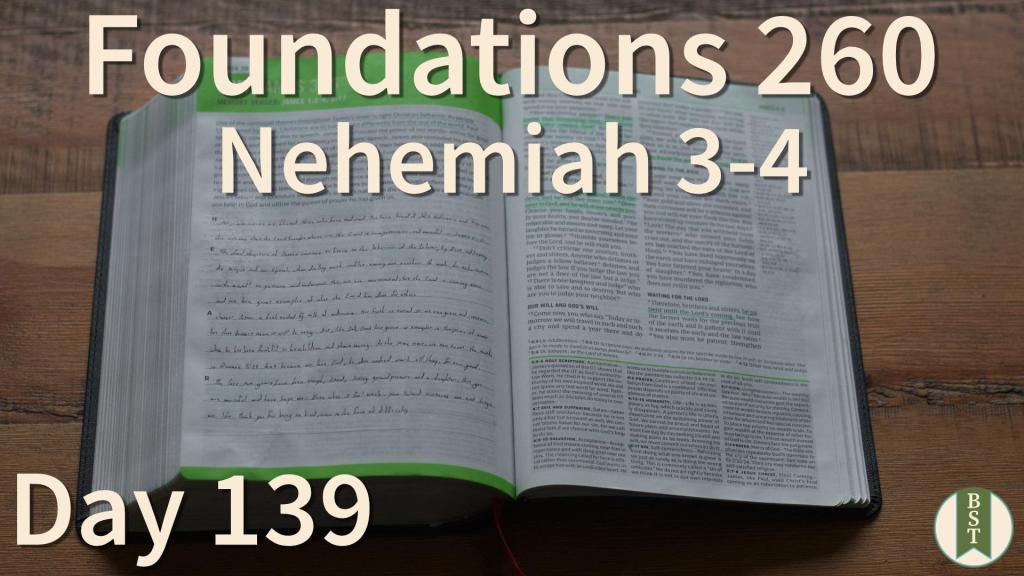 F260 Bible Reading Plan - Day 139