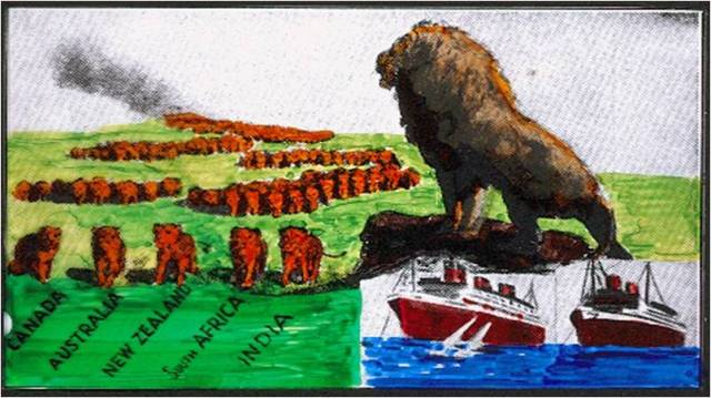 Britain in Bible Prophecy:  Part 2 - The Lion of Tarshish