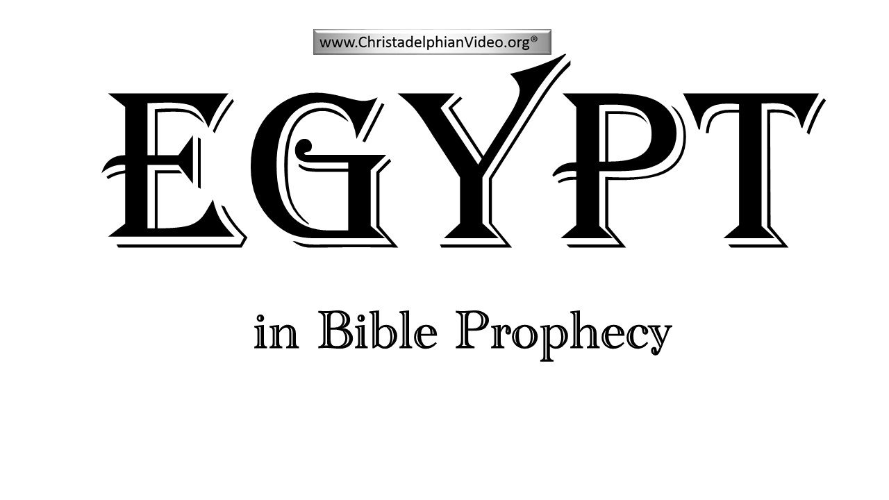 Egypt in Bible Prophecy: Things about the Bible you didn't
