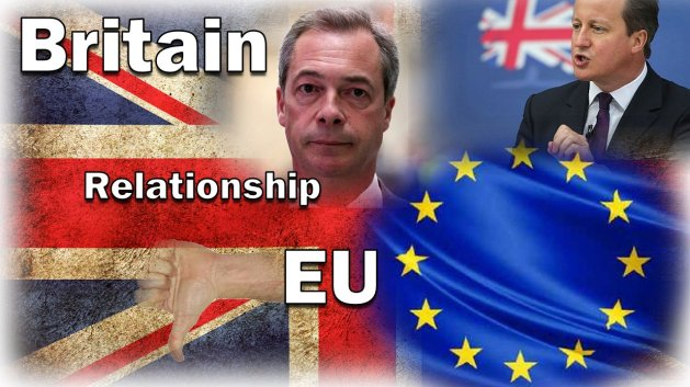 *The ANGELS ARE AT WORK*! - Britain's relationship with the EU set to change on June 23rd.