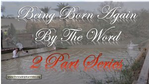 Being Born Again of The Word Of God 2 part study - Stephen Palmer