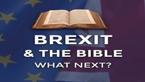 BREXIT & THE BIBLE WHAT - NEXT?  2 Talks given 'live' at Nottingham University