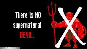 NO Supernatural Devil: Youth Seminar Style Workshop