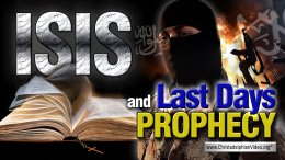 Isis & Last Days Bible Prophecy Video post