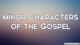 Minor Characters of the Gospel 5 Part Video Bible Study Series - Neville Clark