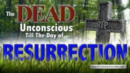 The DEAD UNCONSCIOUS TILL THE DAY OF RESURRECTION Video post
