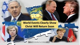 World Events Clearly Show Christ Will Return Soon. Carl Parry Video post