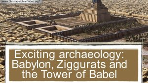 Exciting BABYLONIAN Archaeology Proves the Bible Record True Nov 2017 UPDATE Video Post Rugby