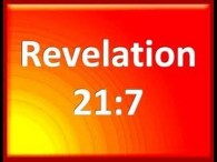 Urgent Warning From Revelation: Pt 3 'He that overcometh shall inherit all things Rev 21:7