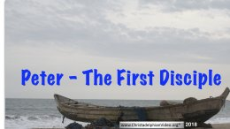 Peter- The First Disciple: (5 Videos)