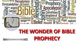 The Wonder of Bible Prophecy - New Video Release