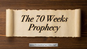 Amazing Must See Bible Prophecy: 'The 70 weeks (490 Days) Prophecy - Daniel 9'Prophecy New Video Release