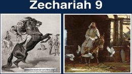 Zechariah 9: The King saves his people from all their enemies -New Video Release