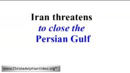 WOW! The Utter Chaos in Europe: Iran Threatens to close the Persian Gulf!!