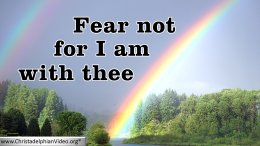 Bible Quotes – Fear thou not, for I am with thee