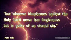 "Thought for August 8th. ""GUILTY OF AN ETERNAL SIN"""