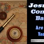 Jesus is coming back!  Are you ready