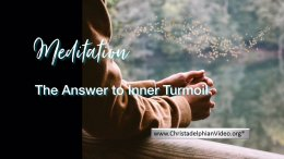 Stop & Think: Meditations - The Answer to Inner Turmoil
