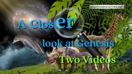Part 1: CREATION – A CLOSER LOOK AT GENESIS – INTRO – Don Pearce