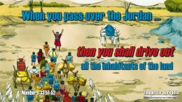 """Daily Readings & Thought for April 14th. """"THEN YOU SHALL DRIVE OUT ... """""""