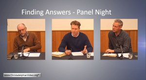 Q&A Live Event - Finding Answers - Panel Night