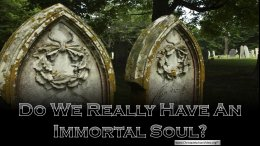 Do we really have an immortal Soul?