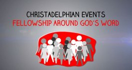 South East Joint Ecclesias Fraternal Gathering 31st Oct @3pm bst