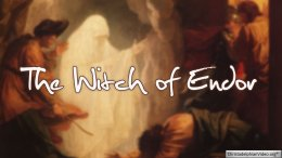 What did the Witch of Endor really see?