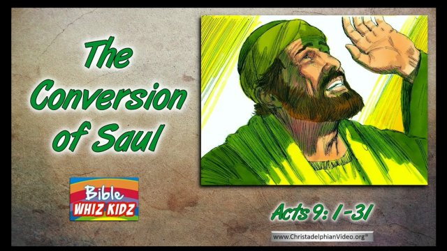 Bible Stories for Children - The Conversion of Paul
