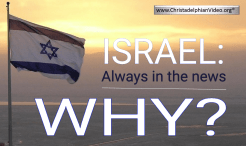 ISRAEL:  Always in the news....Why?