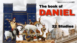 The Book of Daniel: 22 LIVE Online Study Classes -  (God willing)