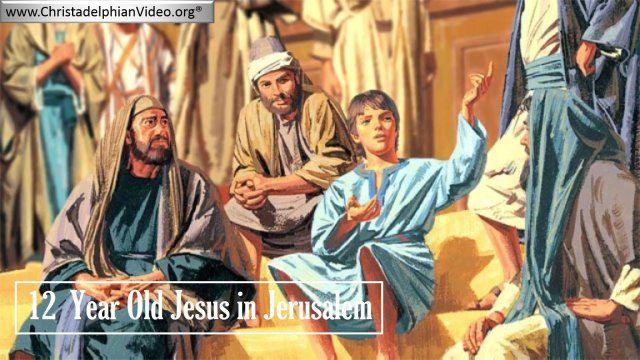 Lesson from the Bible for Children: 12  Year Old Jesus in Jerusalem