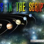 Stars in the scriptures