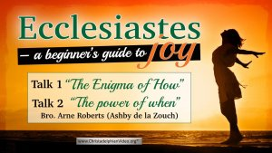 """Ecclesiastes – a beginner's guide to joy"": Rockingham Forrest Study Event (24.4.21)"