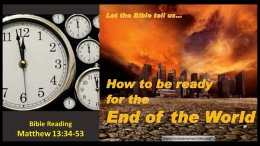 How to be ready for the End of the World!