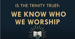 The Gospel Online: Is the Trinity True? #2 'We know who we worship'