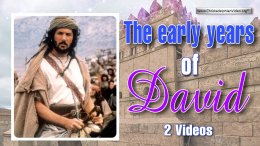 Lessons for Children: The Early Years of David: 2 Videos (age 11+)