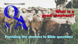 Bible Q&A: What is a Good Shepherd?