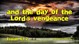 Compilation of Thought for the Day Bible Verses – July 2021