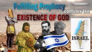 Fulfilling prophecy confirms the existence of God!