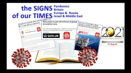 The Signs of Our Times 2021 Bible Prophecy Alive Autumn update